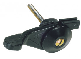 Gashendel rechts - M8 (draadlengte: 14 mm)