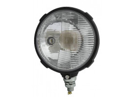 Kunststof koplamp ø150