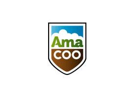 Trekkerstoel, Mechanisch geveerd 'Basic Line' geel van Amacoo